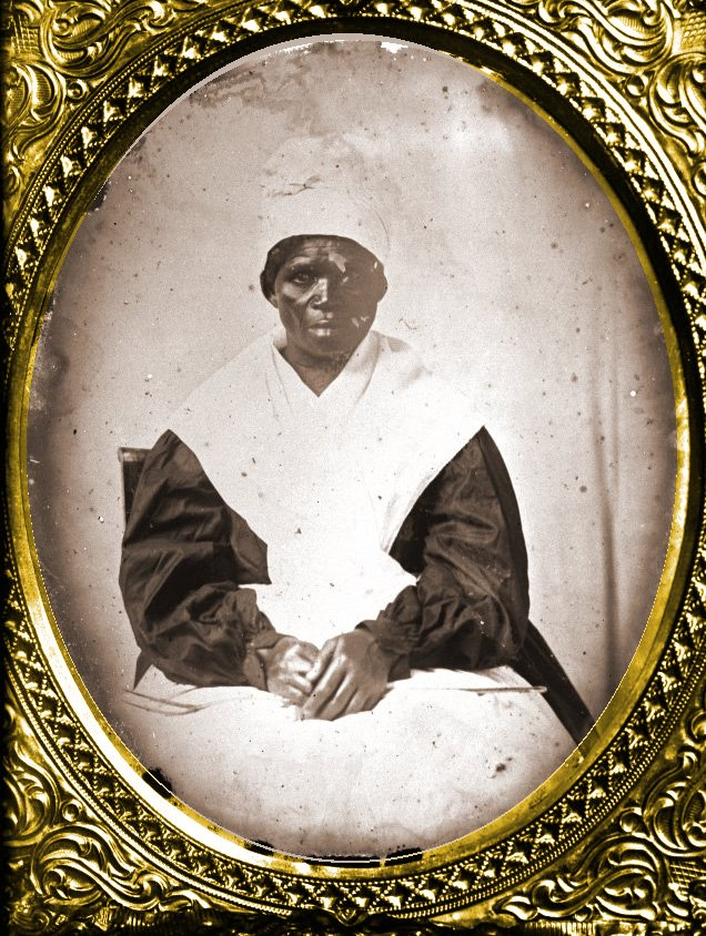 Unidentified African-American cook, St. Mary's Co. [?], c. 1860, MSA SC 1353-143